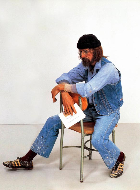 Duane Hanson, Seated Artist, 1971