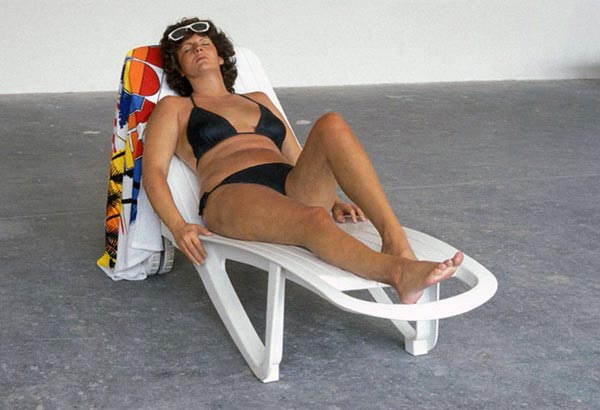 Duane Hanson, Sunbather, 1987