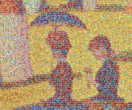 Chris Jordan, Can Seurat, Partial zoom.