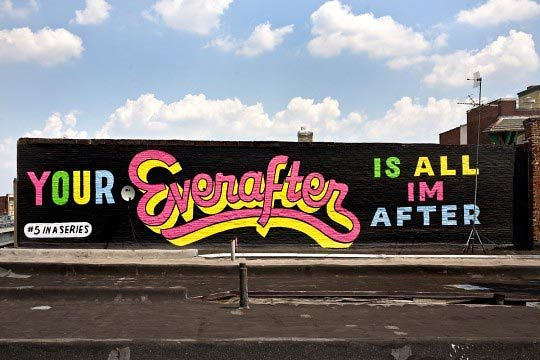 Stephen Powers, Everafter, A Love Letter For You, City of Philadelphia Mural Arts Program