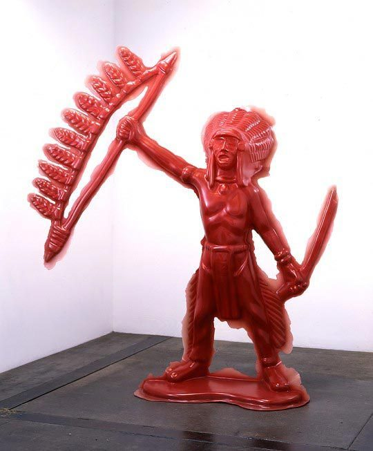 Yoram Wolberger, Red Indian Chief, 2005