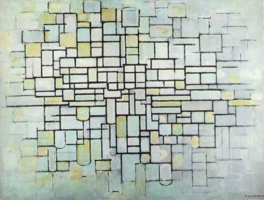 Piet Mondrian, Composition n°2