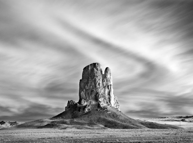 Mitch Dobrowner, Ancient Volcano, Kayenta, Arizona