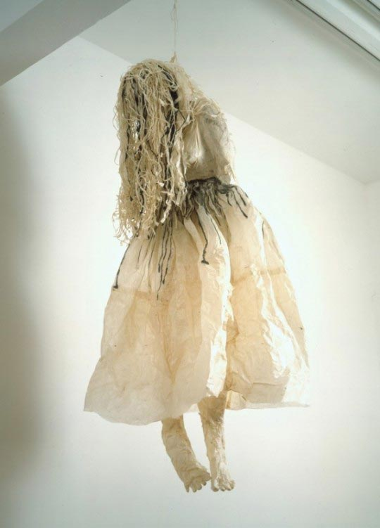 Kiki Smith, Hanging woman, 1992