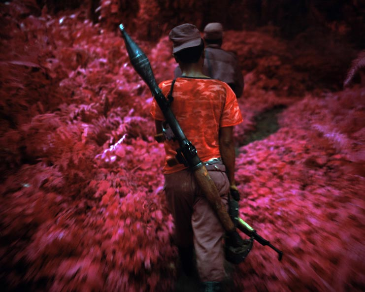 Richard Mosse - Ruby Tuesday, North Kivu, Eastern Congo, 2011 ©