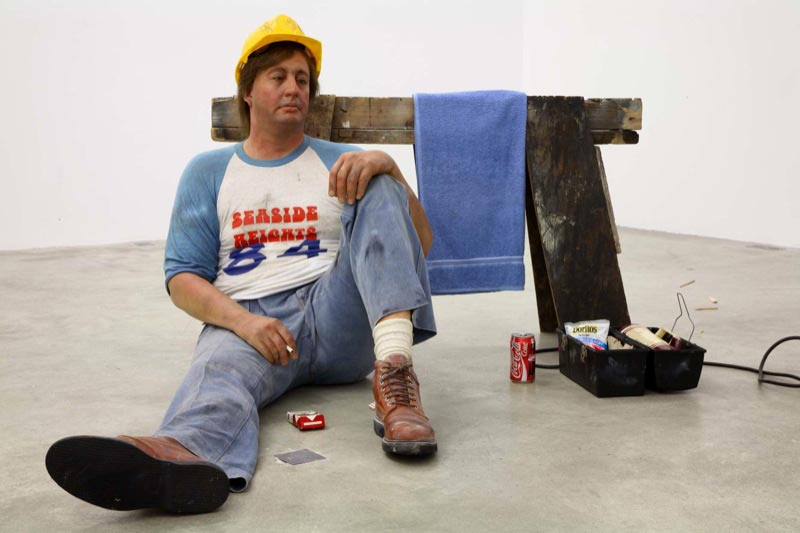Duane Hanson, Lunch Break, 1989