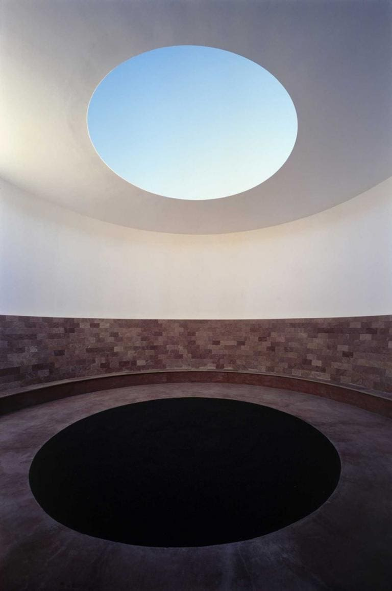 James Turrell, Roden Crater, Crater's eye